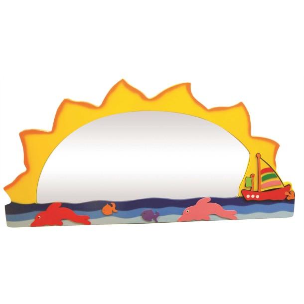 Deniz Manzaralı Lavabo Aynası