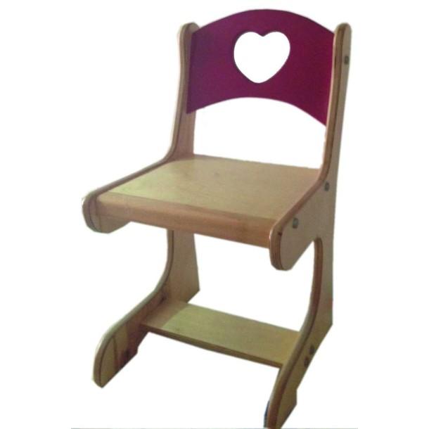 Kalp Figürlü Sandalye